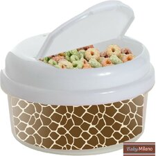 Giraffe 12 Oz. Single Canister Snack Container
