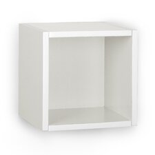"Wall Cube 9.6"" Eco Decorative Wall Shelf Bookcase"