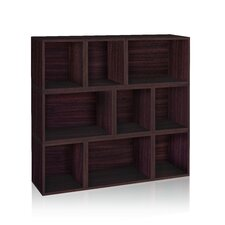 "zBoard Storage Oxford Modular Organizer 46"" Cube Unit Bookcase"
