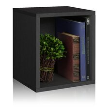 "Cube Plus 15.5"" Eco Stackable Storage Cubby Bookcase"