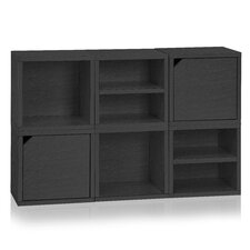 """Connect System Stackable and Cubby Organizer 27"""" Cube Unit Bookcase"""