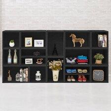 """Rome 44.9"""" Storage Bookcase"""