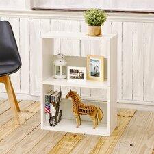 """Duplex 30.2"""" Eco 2-Shelf Bookcase and Storage Shelf"""