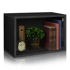 """Rectangle Plus 15.5"""" Eco Stackable Shelf and Shoe Rack Bookcase"""