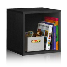 """Cube Box 14.8"""" Eco Stackable Storage Cube and Cubby Organizer Bookcase"""