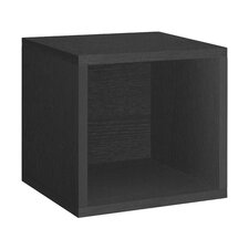 """Cube 12.8"""" Eco Stackable Storage Cubby Bookcase"""
