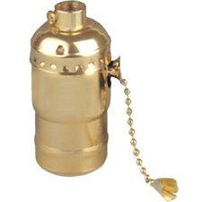 3-Way Pull Chain Lamp Holder