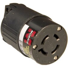 Female Multi-Pole Twist Lock Plug for Most Generators