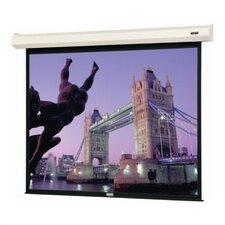 """Cosmopolitan Electrol Matte White 200"""" Diagonal Electric Projection Screen"""