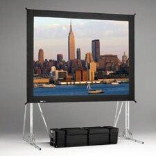 """Fast Fold Da-Mat 108"""" H x 192"""" W Portable Projection Screen"""