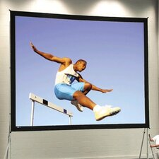 """Fast Fold Deluxe 108"""" H x 144"""" W Portable Projection Screen"""
