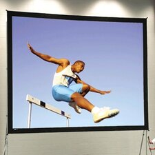 """Fast Fold Deluxe 210"""" Diagonal Portable Projection Screen"""