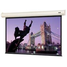 """Cosmopolitan Electrol Matte White 180"""" Diagonal Electric Projection Screen"""
