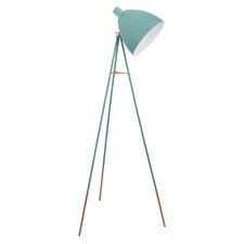 Vintage 135.5cm Tripod Floor Lamp