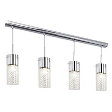 Diamond 4 Light Kitchen Island Pendant Light