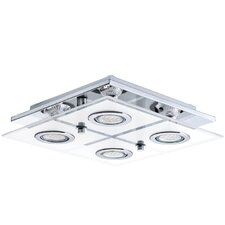 Cabo 4 Light Flush Ceiling Light