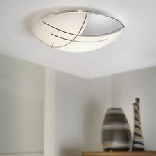 Raya 1 Light Flush Ceiling Light