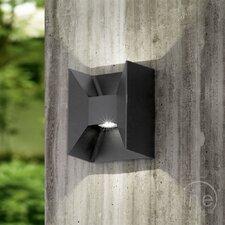LED-Außenwandleuchte 2-flammig Morino