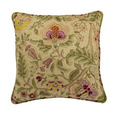 Imperial Dress Cotton Throw Pillow