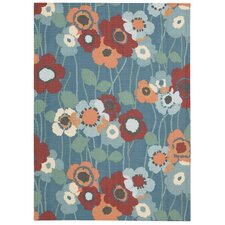 Sun and Shade Bluebell Indoor/Outdoor Area Rug