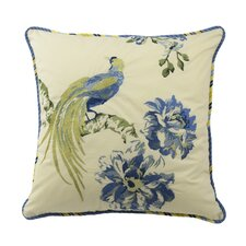 Floral Engagement Throw Pillow