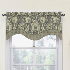 "Clifton Hall 52"" Scalloped Curtain Valance"