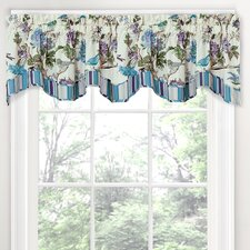 "Charleston Chirp 50"" Scalloped Valance"