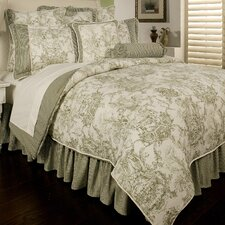 Country Toile 6 Piece Comforter Set