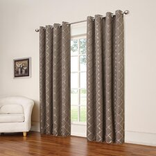 Tipton Trellis Single Blackout Curtain Panel