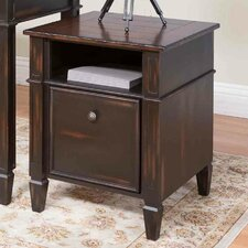 Eclectic Navarro 1 Drawer File Cabinet