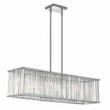 Aruba 7 Light Kitchen Island Pendant