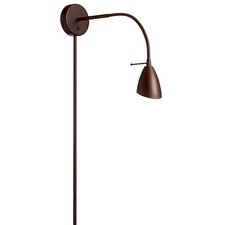 Contemporary Gooseneck 1 Light Wall Lamp