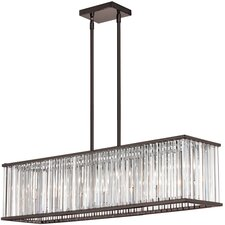 Aruba 7 Light Drum Chandelier