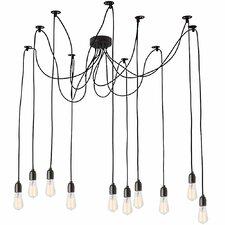 Industrial Chic 10 Light Pendant