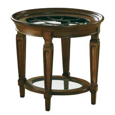 Accents Metal Grille End Table