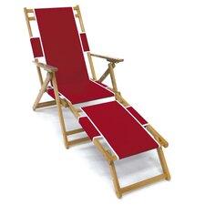Oak Wood Commercial Grade Beach Chair