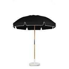 7.5 ft. Diameter Fiberglass Commercial Grade Beach Umbrella with Ashwood Center Pole
