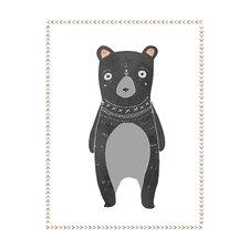 Boho Bear Paper Print