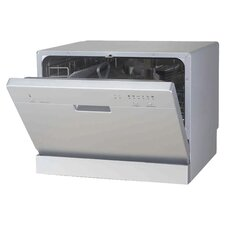 "21.65"" 55 dBA Compact Dishwasher"