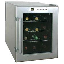 12 Bottle Wine Single Zone Freestanding Wine Refrigerator
