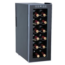 12 Bottle Single Zone Freestanding Wine Refrigerator