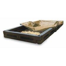 4' Rectangular Sandbox with Cover