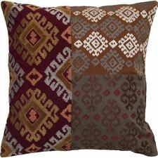 Patchwork Cotton Throw Pillow