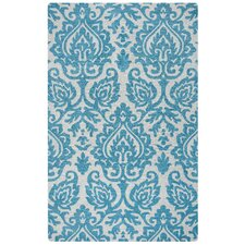 Marianna Fields Hand-Tufted Aqua/Blue Area Rug