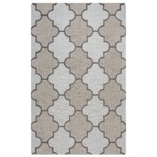 Caterine Hand-Tufted Ivory Area Rug