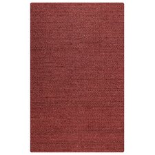 Ellington Hand-Loomed Red Area Rug