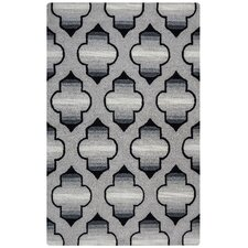 Valintino Hand-Tufted Gray Area Rug