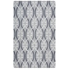 Loureli Hand-Tufted Gray Area Rug
