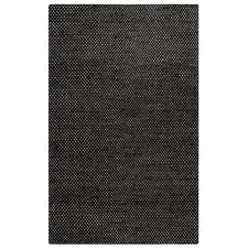 Ellington Hand-Loomed Black Area Rug