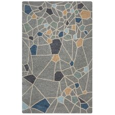 Marianna Fields Hand-Tufted Gray Area Rug